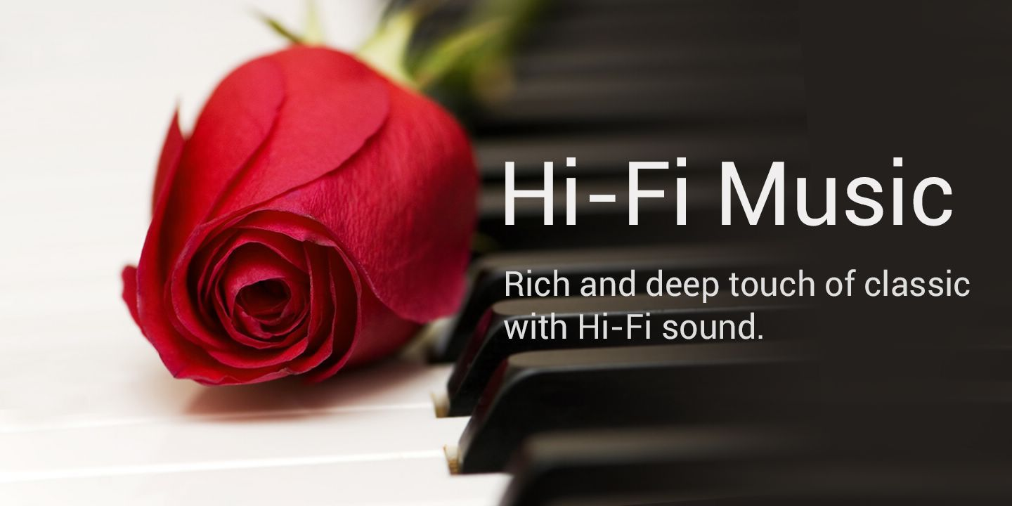 [Rich and deep touch of classic with Hi-Fi sound]