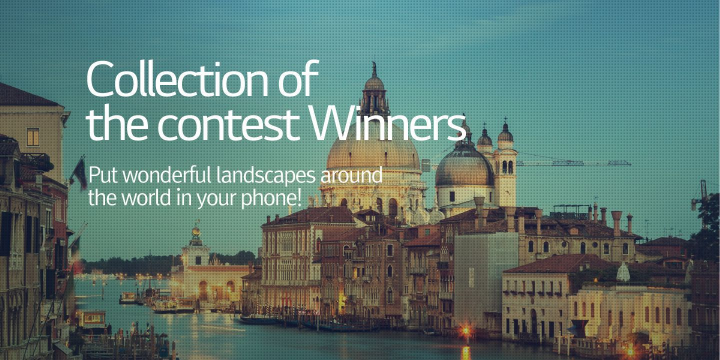 [Put wonderful landscapes around the world in your phone!]