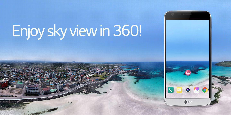 [Enjoy sky view in 360!]